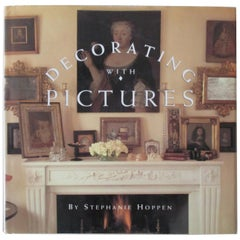 'Decorating with Pictures' Hardcover Book