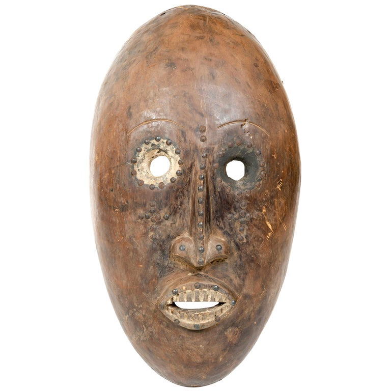 Decorative African Tribal Mask For Sale