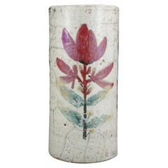 Decorative and Rustic Vase, Gustave Reynaud, 1950s