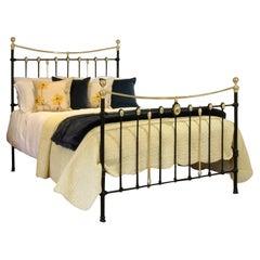 Decorative Antique Bed in Black MK235