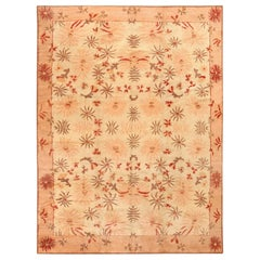 Decorative Antique Indian Agra Rug. Size: 8 ft 10 in x 11 ft 9 in