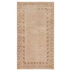 Decorative Antique Khotan Carpet. Size: 8 ft x 16 ft