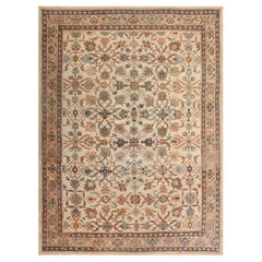Decorative Antique Persian Sultanabad Rug. 8 ft 7 in x 11 ft 7 in