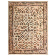 Decorative Antique Persian Sultanabad Rug. Size: 8 ft. 7 in x 11 ft. 7 in