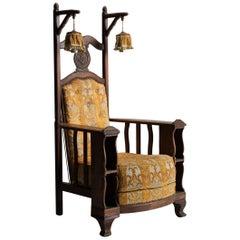 Decorative Armchair with Lanterns