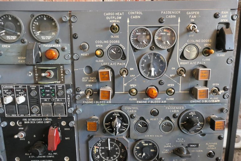 Decorative Aviation B727 Flight Engineer Cockpit Panel