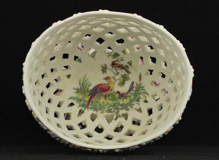 Decorative Basket, Bow Porcelain Factory, circa 1760 For Sale 1