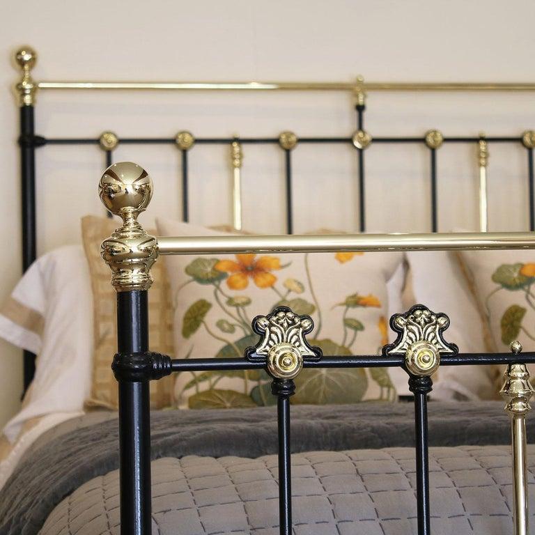 Decorative Black Antique Bed MK200 For Sale 2