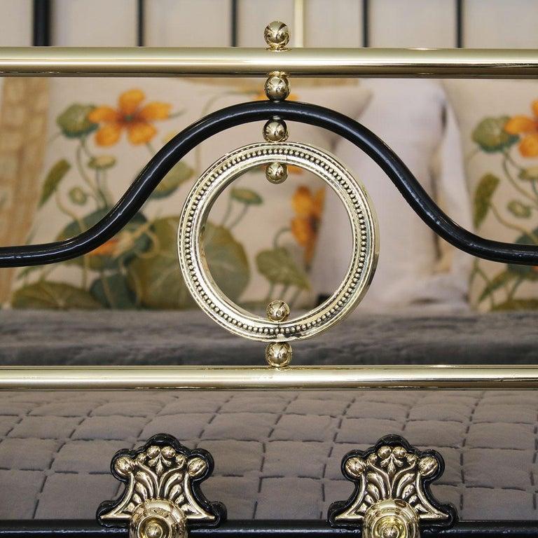 Decorative Black Antique Bed MK200 For Sale 4