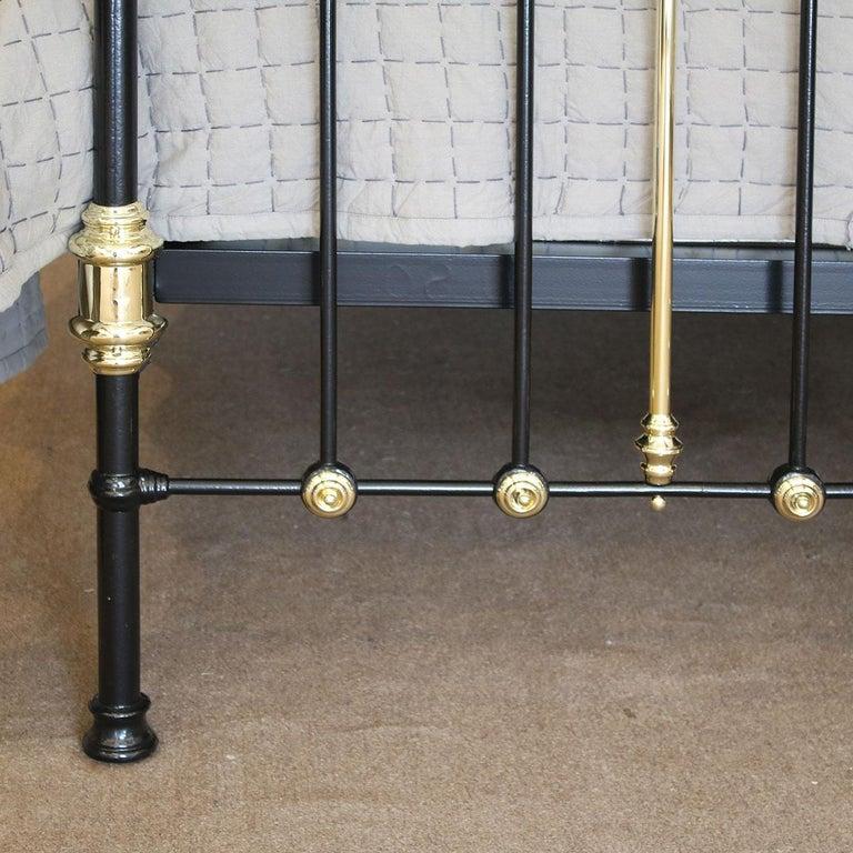 Decorative Black Antique Bed MK200 For Sale 1