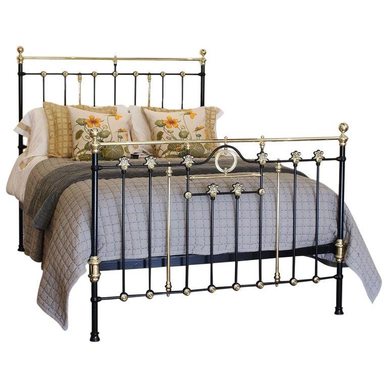Decorative Black Antique Bed MK200 For Sale