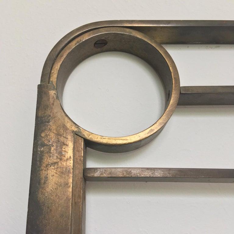 Decorative Brass Headboard, Mid-20th Century, Italian Modern For Sale 7
