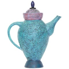 Decorative Ceramic Teapot by Studio Artist Michel Conroy Number 2 of 14