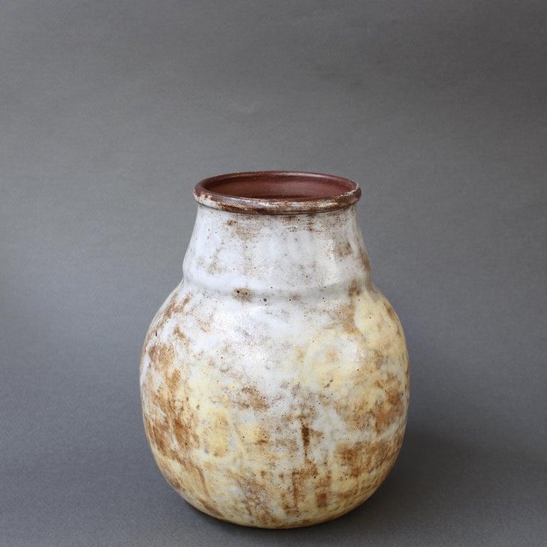 French Decorative Ceramic Vase by Alexandre Kostanda 'circa 1960s'