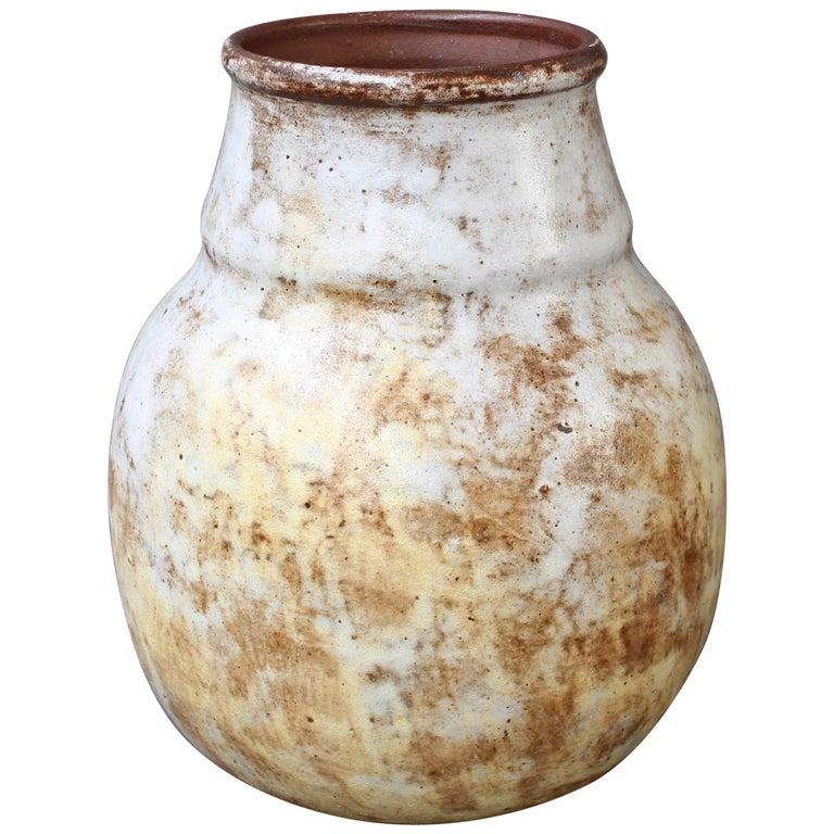 Decorative Ceramic Vase by Alexandre Kostanda 'circa 1960s'
