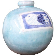 Decorative Ceramic Vase by Cloutier Brothers, circa 1970s