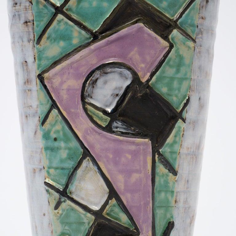 Decorative Ceramic Vases of the 1950s For Sale 4