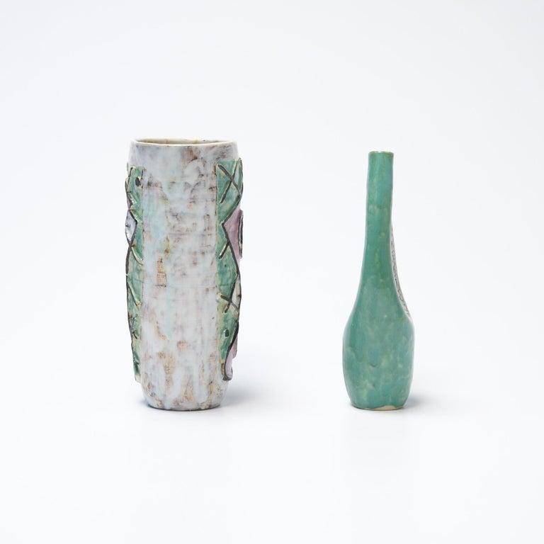 Mid-Century Modern Decorative Ceramic Vases of the 1950s For Sale