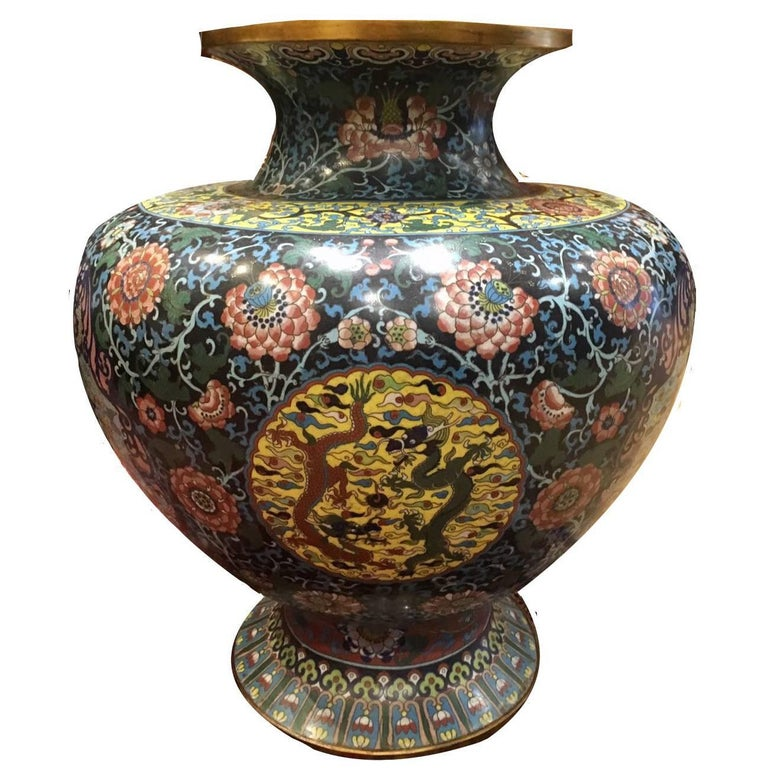 Decorative Chinese 19th Century Vase