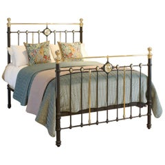 Decorative Dark Grey Antique Bed MK217