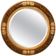 Decorative Empire Style Mirror, Late 20th Century