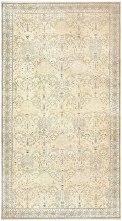 Decorative Extra Large Antique Indian Agra Carpet. Size: 16 ft x 29 ft 6 in
