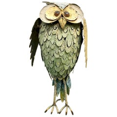 Decorative Folk Art Owl