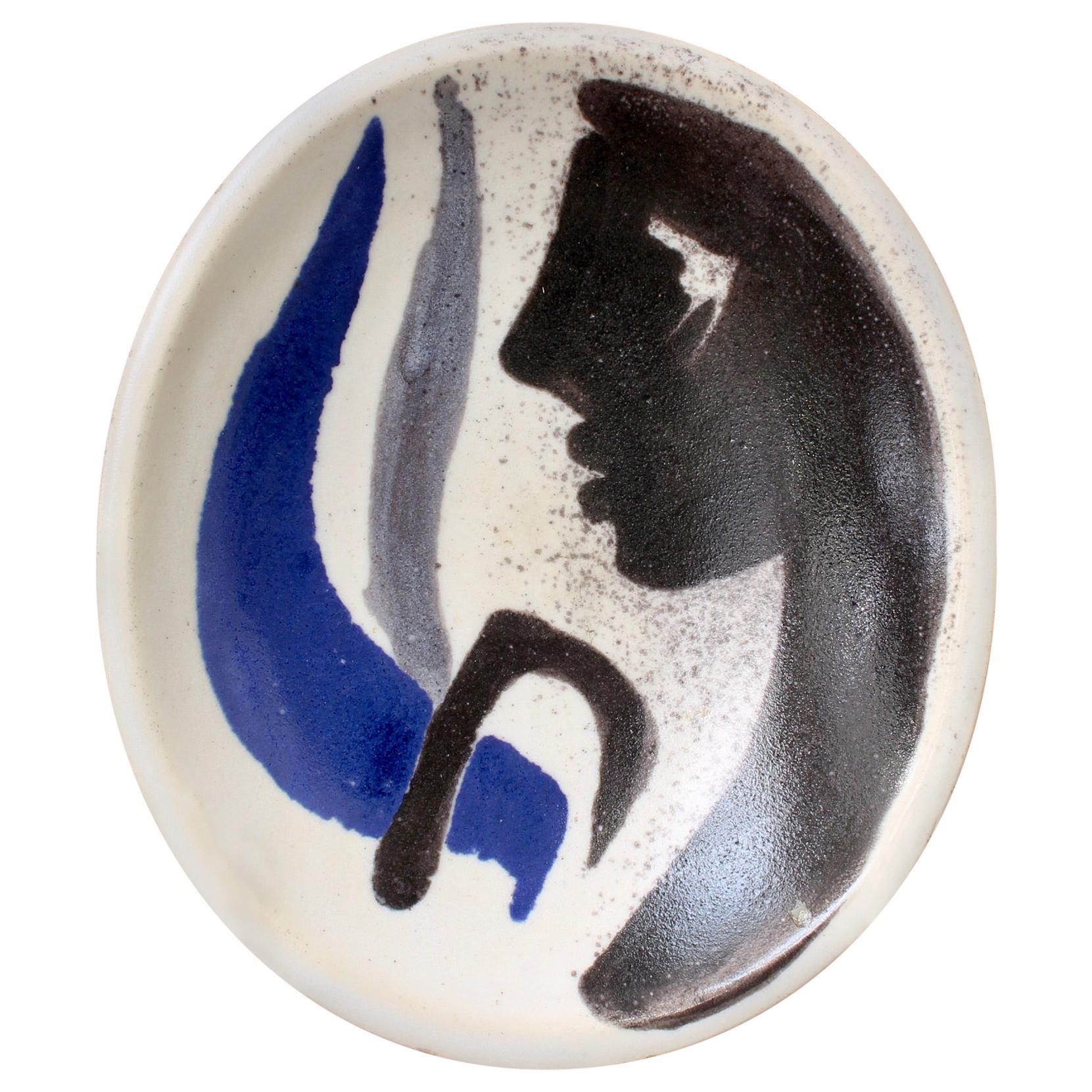 Decorative French Ceramic Bowl by Mado Jolain 'circa 1950s'