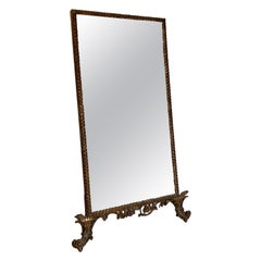 Decorative French Gilt Mirror, 1900s