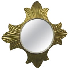 Decorative Gold Leaf Mirror