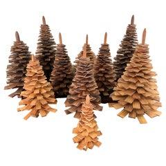 Decorative Handmade Wooden Christmas Trees