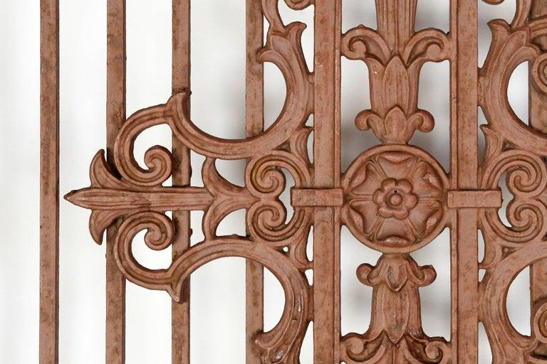 American Decorative Iron Gate For Sale