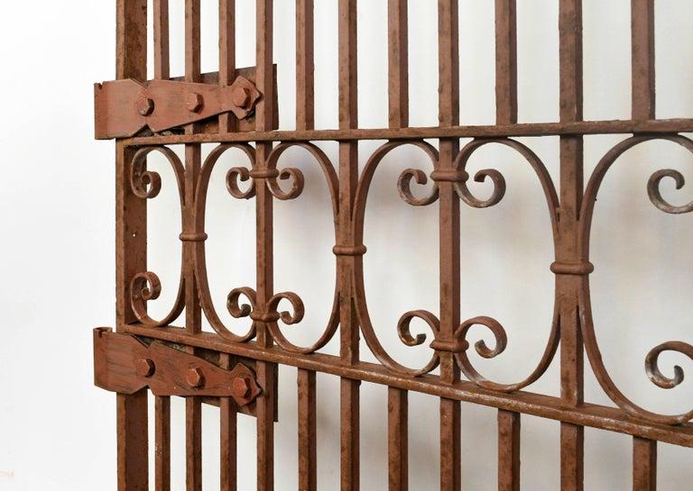 Decorative Iron Gate For Sale 2