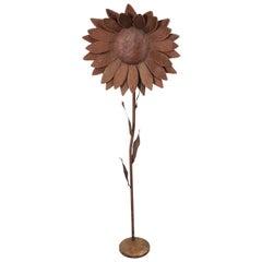 Decorative Iron Sunflower