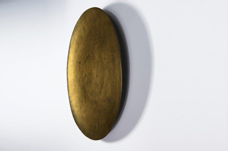Japonisme Decorative Japanese Brass Plate For Sale