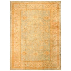 Decorative Large Antique Turkish Rug. Size: 11 ft x 15 ft 3 in (3.35 m x 4.65 m)