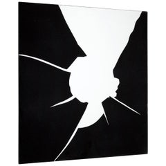 "Decorative Mirror Abstract Shape ""Crudo"""