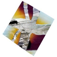 "Dekorative Spiegel Abstrakte Form ""Doble Crudo"""