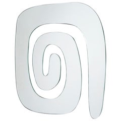 "Decorative Mirror Abstract Shape ""Espiral"""