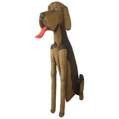 Decorative Over-Sized Dog Statue