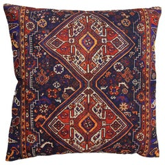 Decorative Persian Accent Pillow with Down Filling