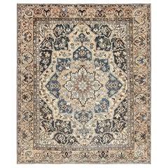 Decorative Persian Bakhtiari Carpet. Size: 11 ft x 12 ft 9 in (3.35 m x 3.89 m)