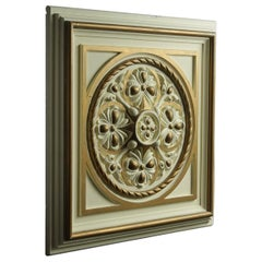 Decorative Plaster Ceiling Panels or Tiles, 20th Century
