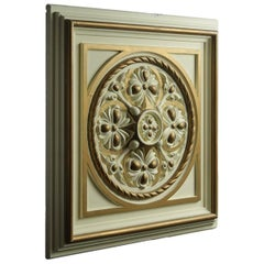 Decorative Plaster Ceiling Panels / Tiles, 20th Century