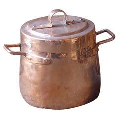 Decorative, Polished Stock Pot