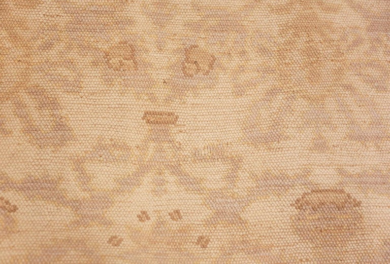 Decorative Room Size Antique Spanish Carpet. Size: 9 ft 3 in x 12 ft 3 in For Sale 1
