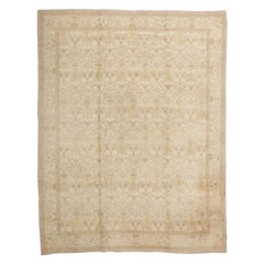 Decorative Room Size Antique Spanish Carpet. Size: 9 ft 3 in x 12 ft 3 in