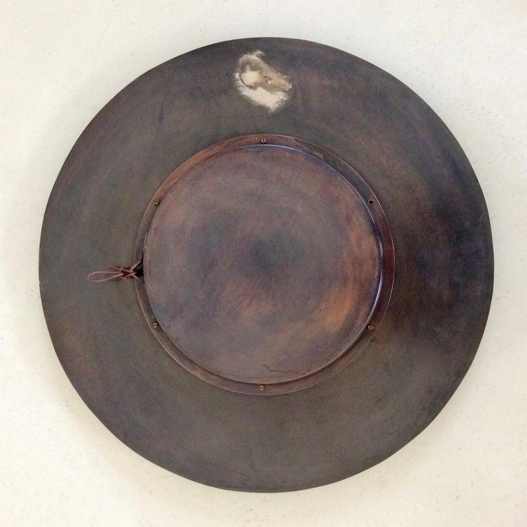 Decorative Round Mirror, circa 1970, France For Sale 4