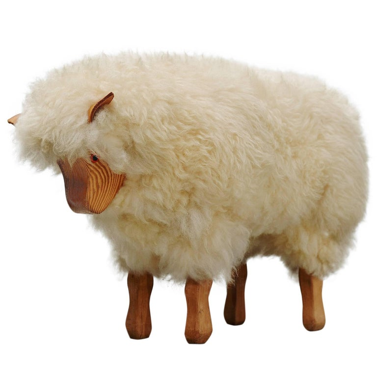 Decorative Sheep 1970 At 1stdibs
