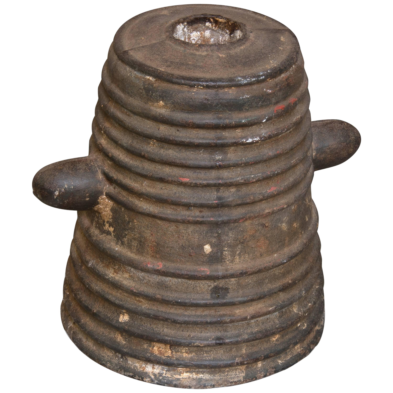 Decorative Short Cannon, Metal, 20th Century